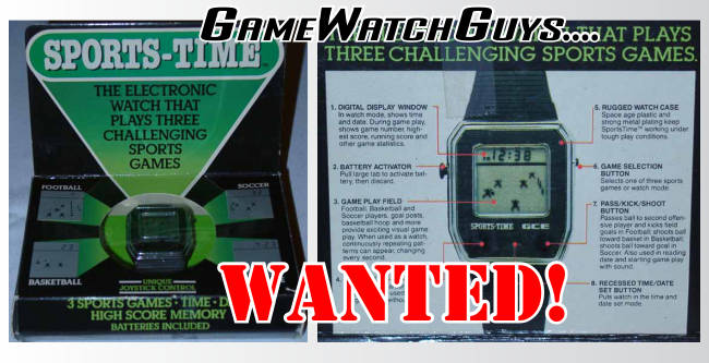 The GCE Sports Time Watch Boxed New