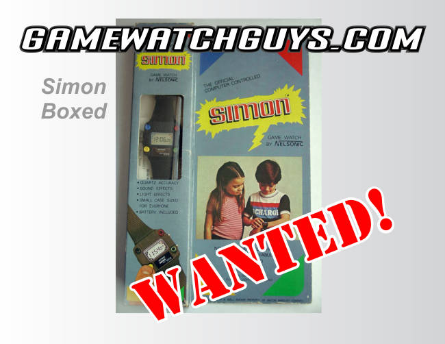 simon game watch boxed